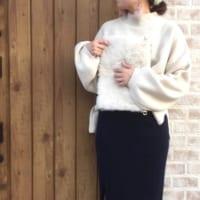 ニットもボリューム袖がかわいい♡トレンドのボリューム袖ニットでつくる秋コーデ15選