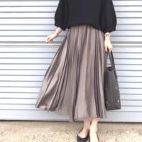 クラシックなスタイルで楽しみたい☆プリーツスカートの着こなし15選