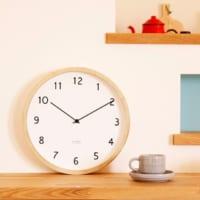 空間に溶け込む時計。お部屋の雰囲気に合わせたアナログ時計の選び方!