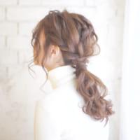 ポニーテールアレンジ特集☆ルーズや前髪アレンジなど一挙ご紹介!