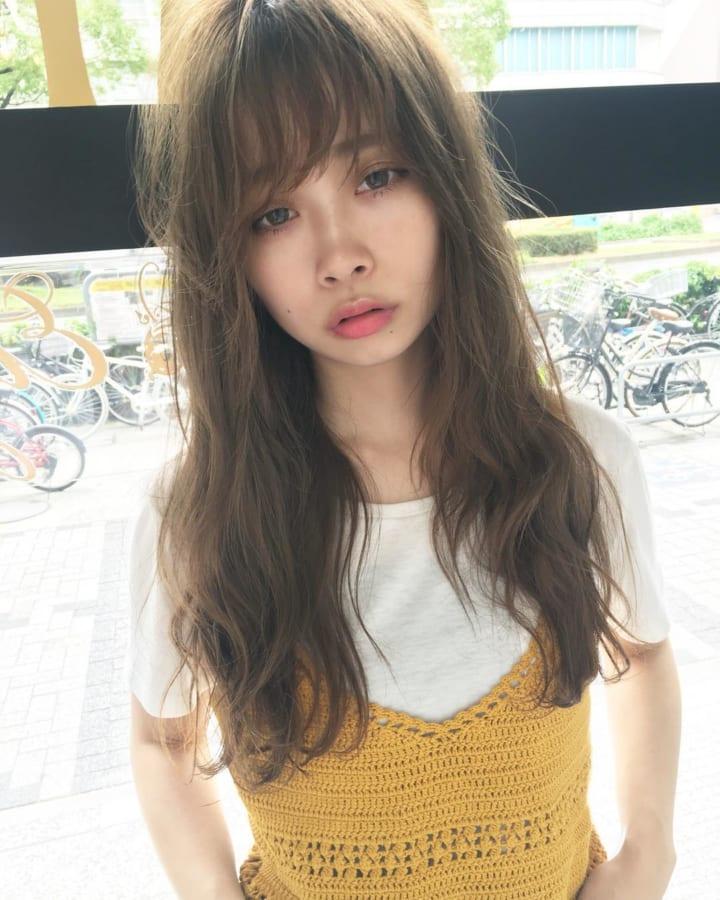 前髪ありスタイル14