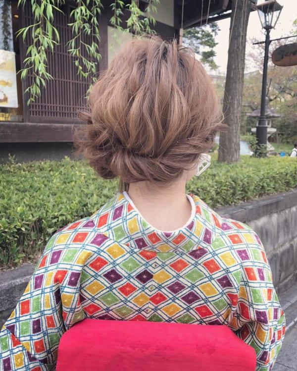 和装アップヘアアレンジ6