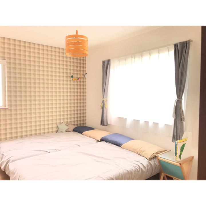 シンプルな寝室5