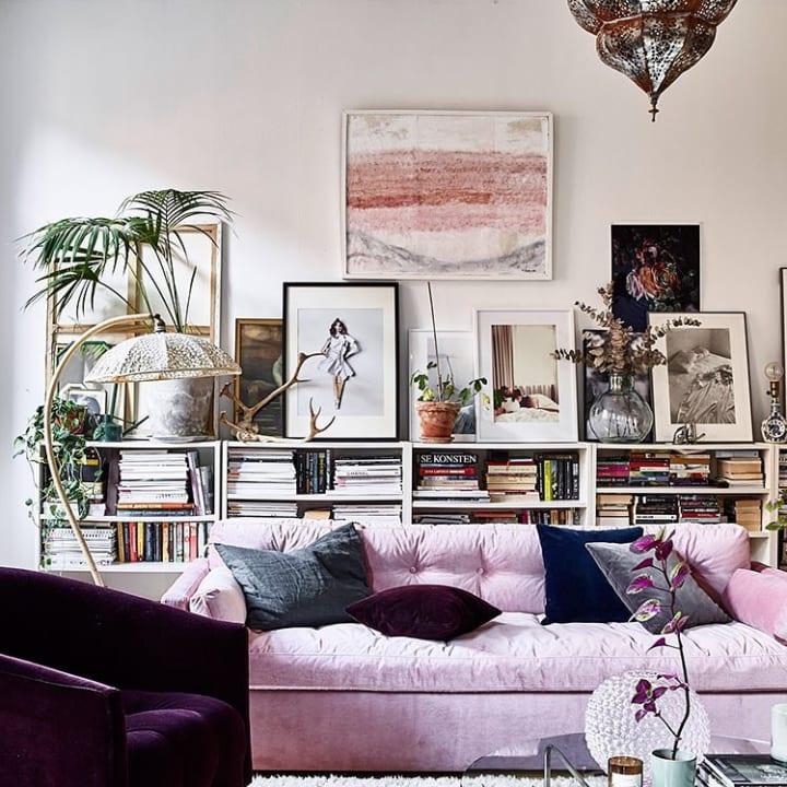 Modern Boho Bedroom Plants