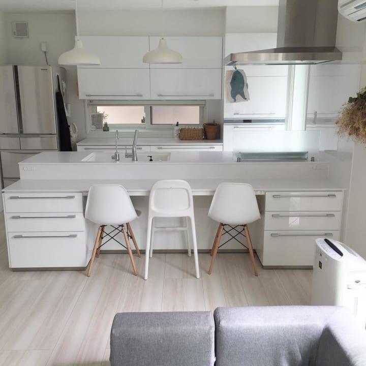 シンプルなキッチン3