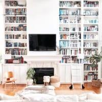 お家にある書籍をインテリアに!見せる書籍収納アイデア20選☆