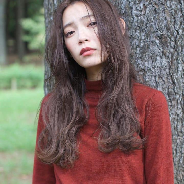 前髪なしスタイル14