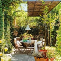 自宅の庭でBBQがしたい!素敵なオープンエアのインテリア実例15選☆