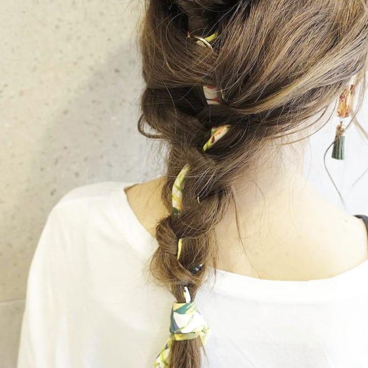 フィッシュボーン&三つ編み5