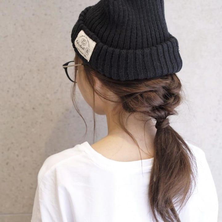 フィッシュボーン&三つ編み4