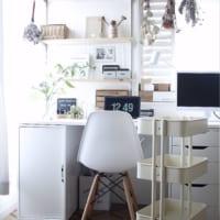 IKEAの家具を使ったおしゃれなモノトーンインテリア実例10選!プチプラなのに高見えインテリア♡