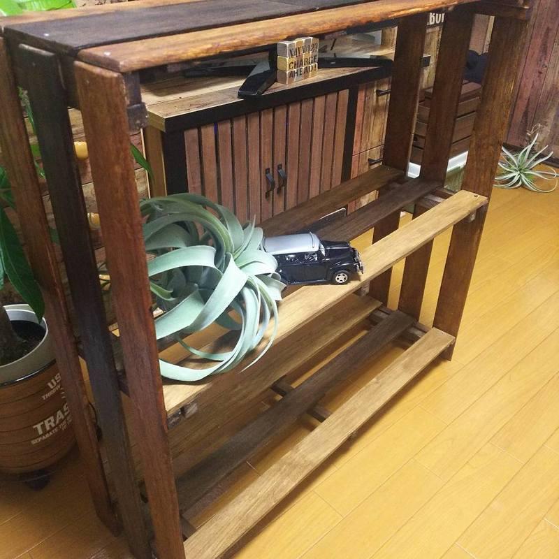 自分で作ろう!靴収納DIY例3