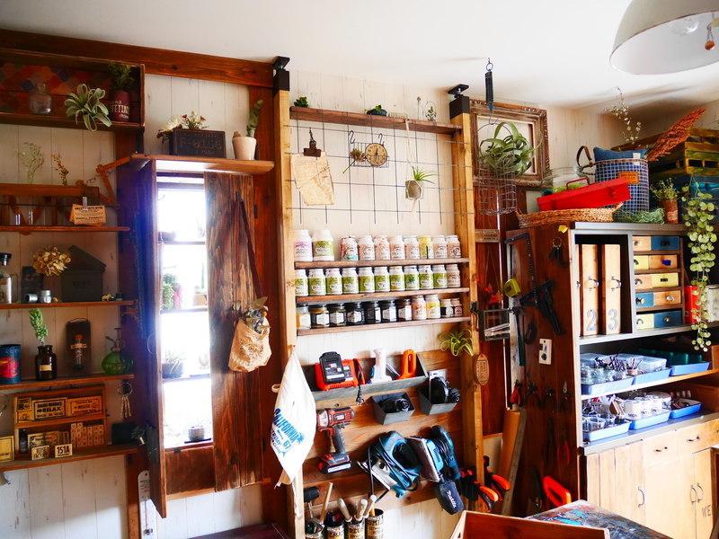 ラブリコを使ったDIYアイデア集 工具棚