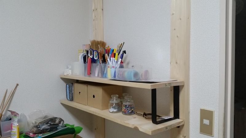 ラブリコを使ったDIYアイデア集 木製棚