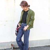 カッコイイが叶う!MA-1で作るイケメン女子コーデ15選☆