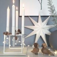 ホワイトインテリアのクリスマスが素敵!今年はどんなクリスマスグッズを準備する?