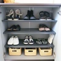 玄関スペースが狭くなりがちな冬!靴を断捨離して玄関収納を改善しましょう☆