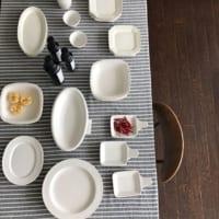 定番のシンプルな「白い食器」♪お気に入りの食器で毎日の生活をおしゃれに