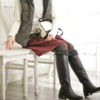 冬の足元はロングブーツで決まり!ロングブーツで暖かく過ごそう♪