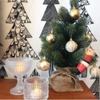 クリスマス仕様でもっと幸せ♡モノトーン・ナチュラル・北欧テイストの素敵なクリスマスインテリア♪