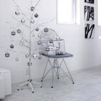 ナチュラル&クールにスタイリング♡クリスマスツリーの飾り方をご紹介