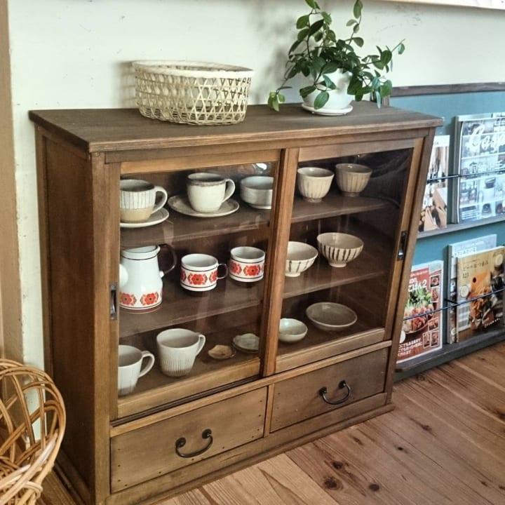 キッチン収納アイデア④ 食器類収納実例1