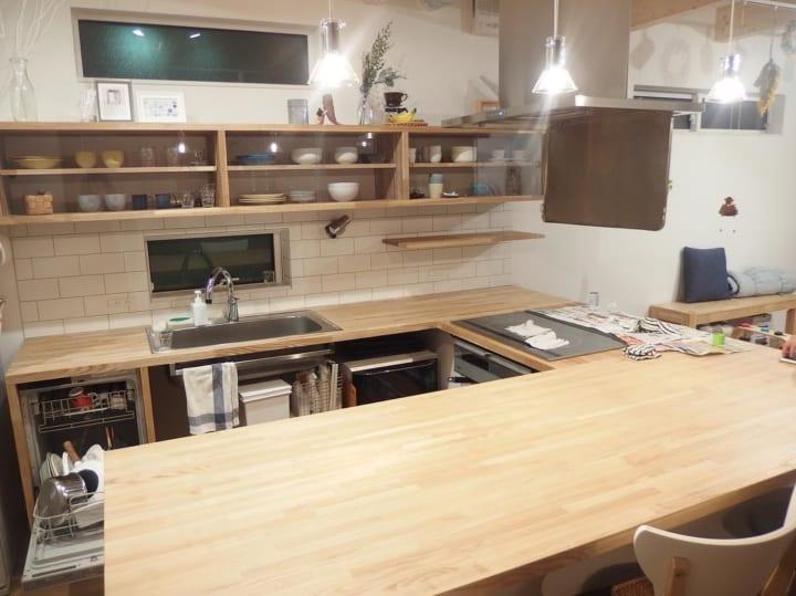 キッチン収納アイデア④ 食器類収納実例4