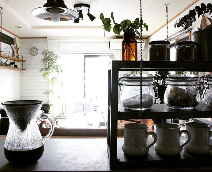キッチン収納アイデア④ 食器類収納実例5