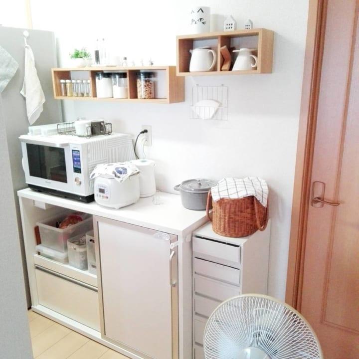 おすすめキッチン収納アイテム② 無印良品実例4