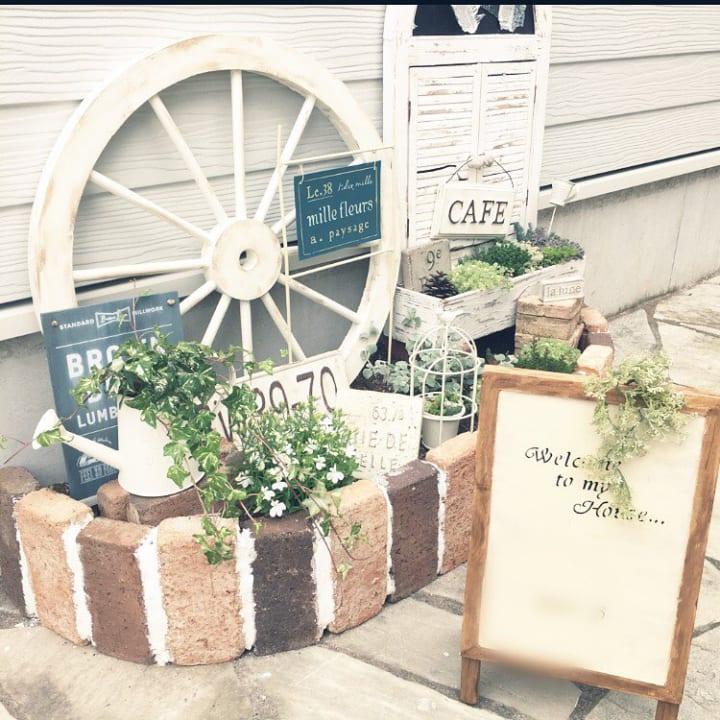 レンガで花壇をDIYしよう!2