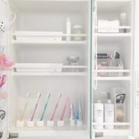 無印良品&100均の歯ブラシスタンドですっきりと!洗面台をおしゃれに見せるアイデア8選