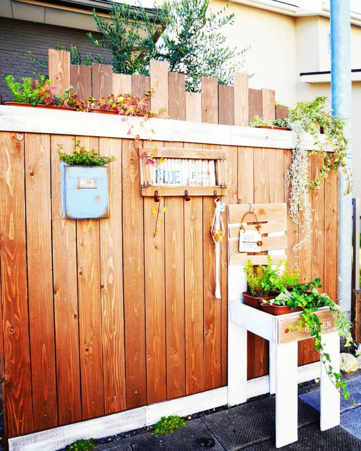 お庭にあると素敵な雑貨をDIYしよう!