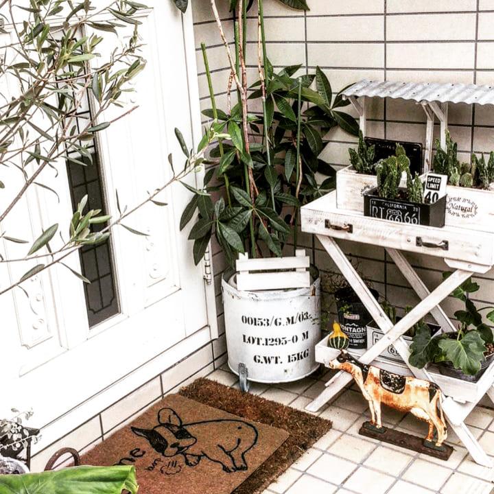 お庭に柵や棚、室外機カバーをDIYしよう!6