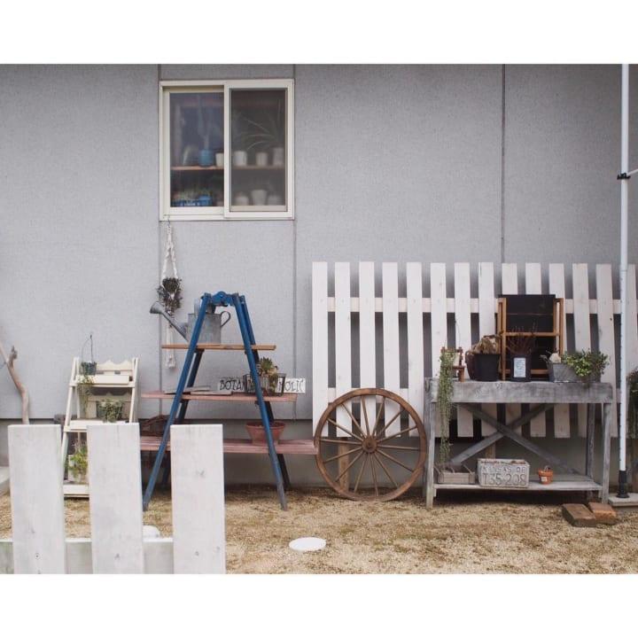 お庭に柵や棚、室外機カバーをDIYしよう!5