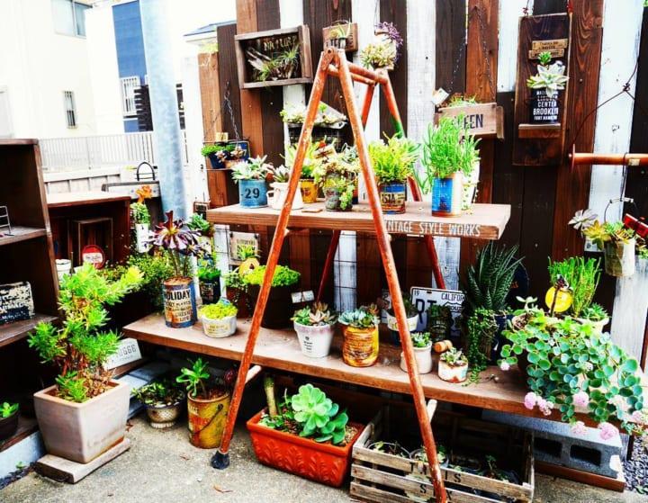 お庭に柵や棚、室外機カバーをDIYしよう!4