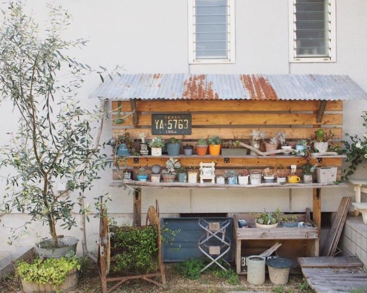 お庭に柵や棚、室外機カバーをDIYしよう!2