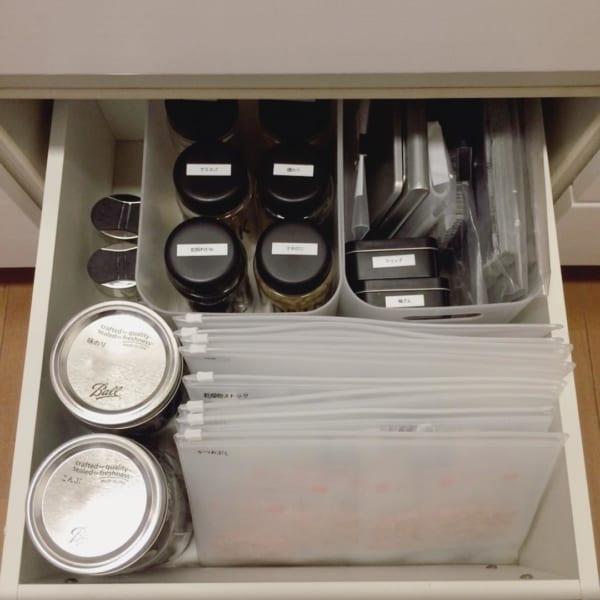おすすめキッチン収納アイテム② 無印良品実例8