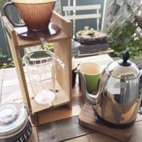 セリアのアイテムで作るおうちカフェ☆ドリップスタンドをDIYしたら開店準備です☆