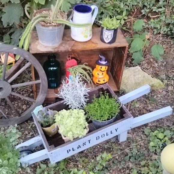 お庭にあると素敵な雑貨をDIYしよう!2