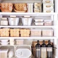 冷蔵庫の中、拝見します!オススメの収納容器もご紹介♪