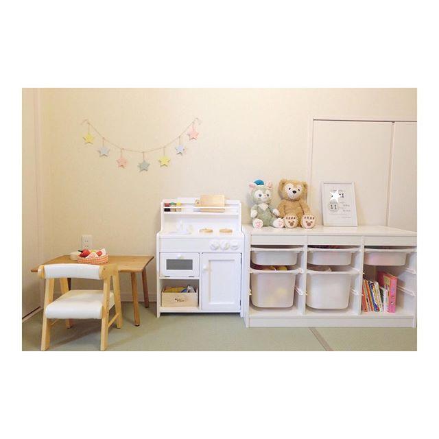 和室の一角にも!雰囲気が可愛い子供スペース2