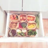 ★冷蔵庫、整理整頓アイデア★スッキリ爽やかに新しい1年を始めましょう♩