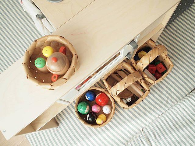 細々系のおもちゃに◎な収納アイテム
