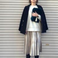 カッコ可愛いクリスマスコーデを作るなら♡ZARAのスカートを上手に使ってみよう!