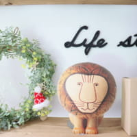 【連載】セリア商品を使って爽やかクリスマスリースを作ろう!