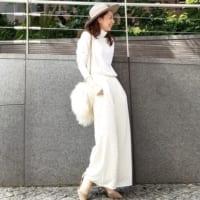 儚く美しいホワイトコーデ♡ホワイトアイテムで作る柔らかで女性らしいコーデ