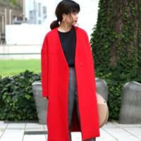 ころんとしたデザインが魅力的♪『コクーンシルエット』のコートで冬の着こなしを格上げ!