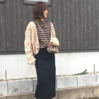 ユニクロのメリノブレンドリブスカートでしっとりとした大人女子の魅力を☆スマートスカートコーデ10選