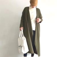 無印良品のニット・セーターコーデ10選♪冬のヘビロテ間違いなしのアイテム☆