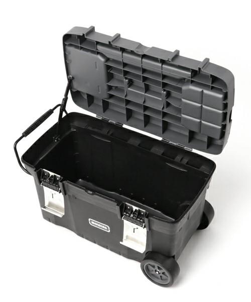 [TIMELESS COMFORT] molding TRUNK BOX CART 67L with Castors.